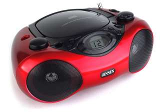 Jensen CD 480 Portable Stereo Compact Disc Player with AM/FM Radio