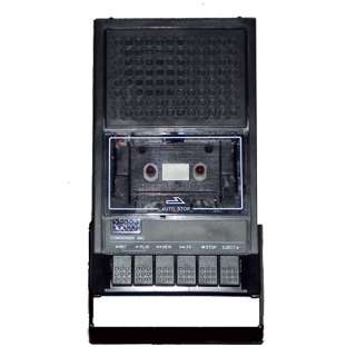 Portable Shoebox Cassette Tape Player and Voice Recorder, Brand NEW