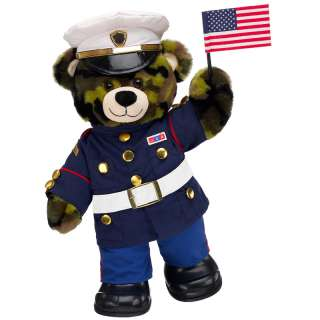 Marine Camo Bear   Build A Bear Workshop US