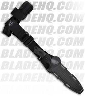 LHR Fixed Blade Combat Knife (6.87 Black Serr) 30 000183   Blade HQ