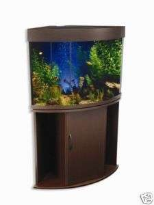 NEW 50 GALLON CORNER AQUARIUM AND TANK STAND LLA4