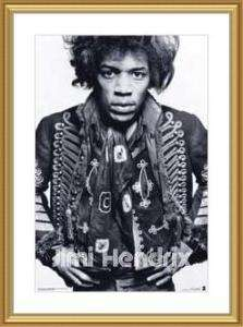 Jimi Hendrix   Warrior Poster at Barewalls