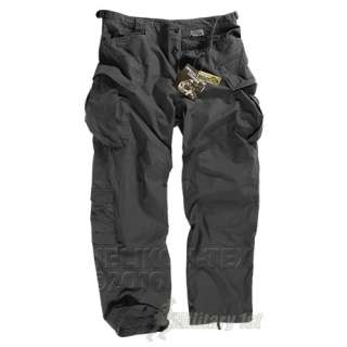SFU UNIFORM COMBAT TROUSERS TACTICAL SECURITY HELIKON NYCO TWILL BLACK