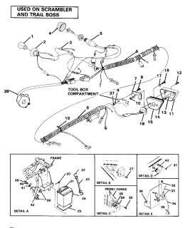 8045959_oem parts polaris trail boss w867627 1986 wire harness polaris trail boss 350l wiring diagram polaris printable & free,2003 Polaris Trail Boss Wiring Harness