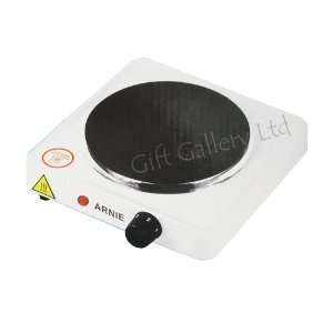 SINGLE STEEL ELECTRIC PORTABLE STOVE HOT PLATE COOKER: .co.uk