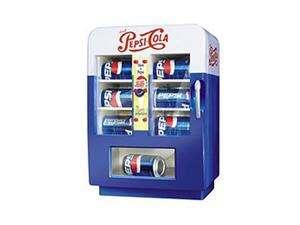 NOSTALGIA ELECTRICS Pepsi Vending Machine Blue PVM 545