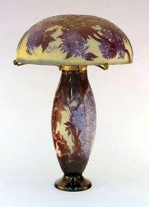 Important & Rare E. Galle Cameo Glass Table Lamp,c1900  (15% OFF  25