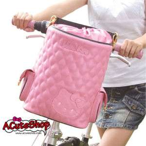 Hello Kitty Bicycle Bike Leather Bag Sanrio