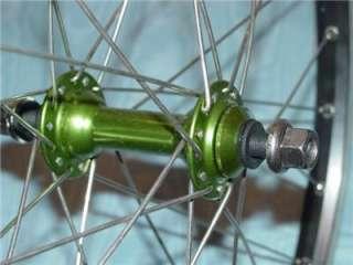 BMX Bike Wheel Set Sun Rims CR 18 20 x 1 1/8 BMX No defects these