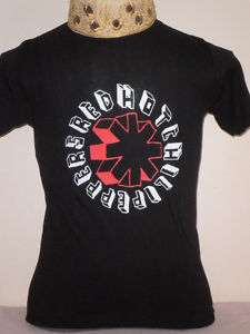 Red Hot Chili Peppers Red/Black Logo Rock Music Shirt