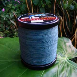 PE SPECTRA BRAID FISHING LINE 100LB 1000M DYNEEMA GREEN