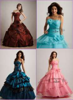 2012 Quinceanera Dress Bridal wedding Dress Prom Ball Party Gown Free