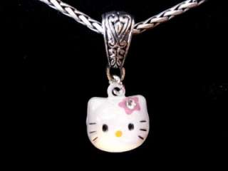 Hello Kitty Bell Charm w/ Rhinestone a Brighton Jewelry Tin or FREE