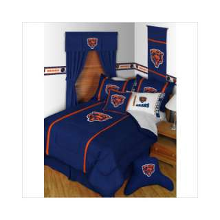 58 Sports Coverage Chicago Bears Sidelines Comforter   Full/Queen