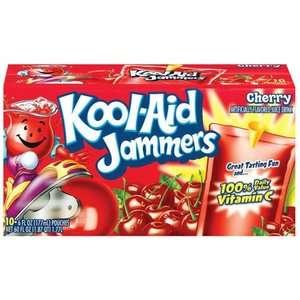 Kool Aid Jammers Cherry Juice Drinks, 60 oz, 10ct