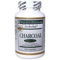 Pure Activated Charcoal Powder, 125 VCaps, #NHCAC125
