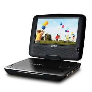 Coby TFDVD7309 7 Inch Portable DVD/CD/MP3 Player with Swivel Screen