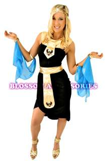 E15 New Cleopatra Goddess Egyptian Fancy Dress Costume