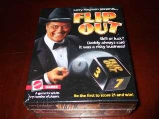 Mattel Flip Out Larry Hagman Dallas Dice Game MISB 1985