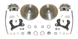 55 64 Full Size Chevy Disc Brake Wheel Conversion Kit