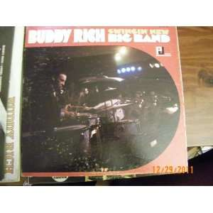 Buddy Rich Swingin New Big Band (Vinyl Record)