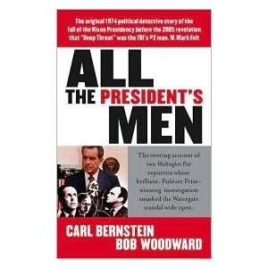 Presidents Men Publisher Pocket Carl Bernstein Bob Woodward Books