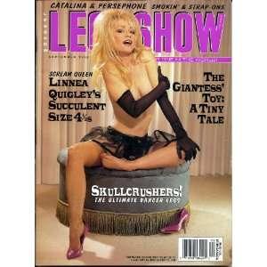 LEG SHOW SEPTEMBER 1996 LINNEA QUIGLEY: LEG SHOW MAGAZINE: Books