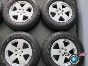 Jeep Wrangler Factory 18 Wheels Tires OEM Rims 9076 255/70/18