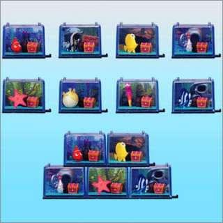 disney pixar finding nemo mini fish tank mascot peach
