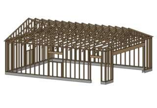 24 x 36 garage shop plans materials list blueprints for 24 x 30 shop plans