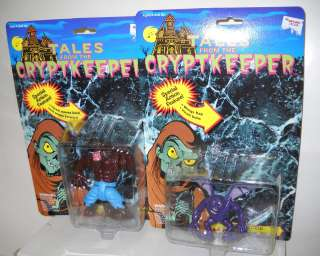 Tales from the Cryptkeeper Werewolf & Gargoyle Action Figures