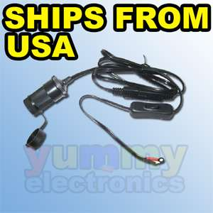 Motorcycle Harness Cable for Garmin TomTom Magellan GPS