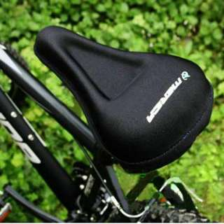 New Bike Bicycle Soft Gel Saddle Seat Cover Cushion Mda