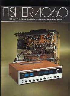 Fisher 4060 Stereo Receiver Brochure