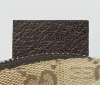 Gucci Brown Monogram Canvas Web Belt Bag