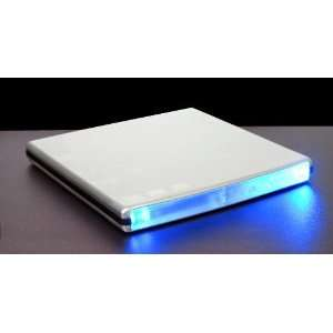 Ultra Slim External USB DVD RW Burner Aluminum Silver
