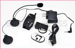 500m Bluetooth Interphone Motorcycle Helmet Intercom US