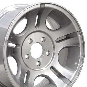 Factory Original Ranger 3431 OEM Wheel Machined Fits Ford   Silver15x7