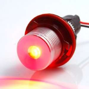 Custom Replacement 3W Red LED Halo Ring Angel Eye Light Headlamp Bulbs