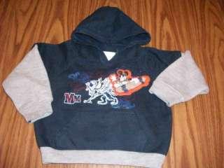 baby boys MICKEY MOUSE hoodie SWEATSHIRT top 18 mo NAVY