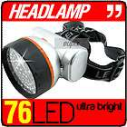 LED Crank Powered Ultra Bright Head Lamp NEW NEEDS NO BATTERIES