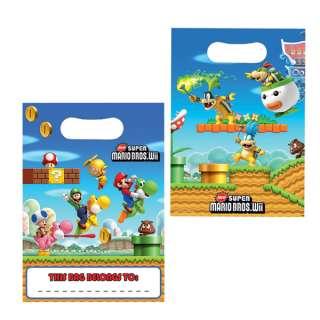 Birthday Party Supplies Super Mario Party Bags