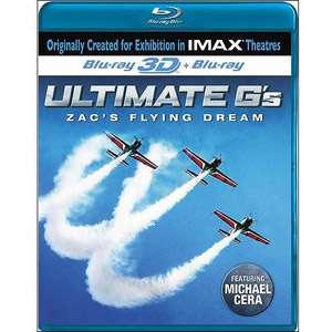 Ultimate Gs Zacs Flying Machine (IMAX) (Blu ray) (3D