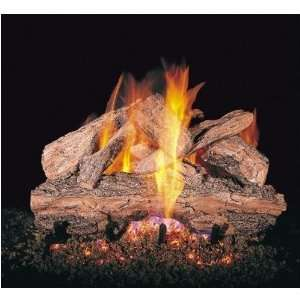 Peterson Gas Logs 30 Inch Red Oak Vented Propane Gas Log
