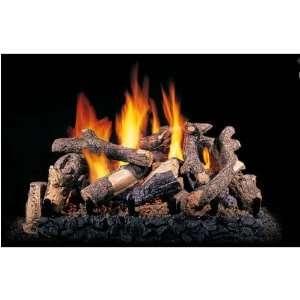 Gas Logs 24 Inch Charred Summit Pine Vented Propane Gas Log Set