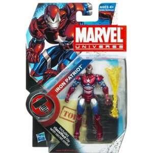Marvel Universe Wave 9 Iron Patriot Action Figure Toys