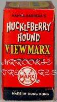 1963 Huckleberry Hound Marx Viewer Box