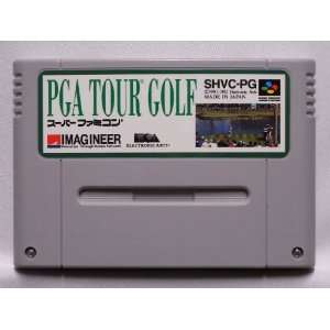 PGA TOUR GOLF (Japan Import) Nintendo Super NES: Video Games