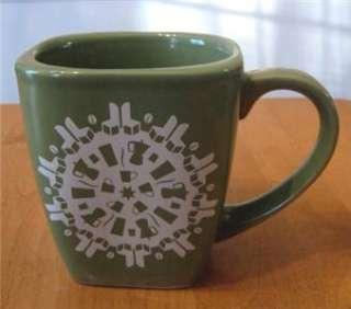 Starbucks Snowflake Collectible Coffee Mug(s)   Green