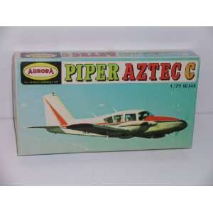 Piper Aztec C Civilian Aircraft  Plastic Model Kit: Everything Else